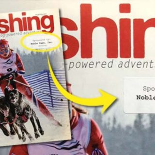 Noble Paws Sponsors Mushing Magazine Subscription