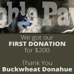sled dogs get nonprofit donation