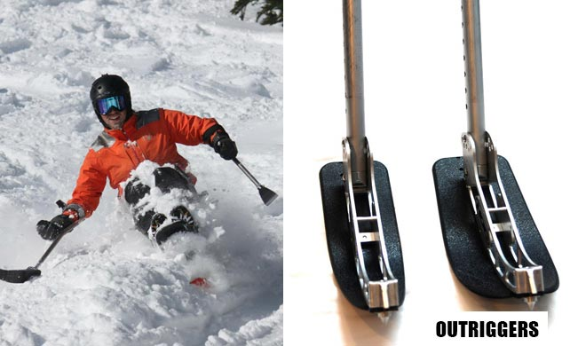 Outriggers – Adaptive Dog Sled