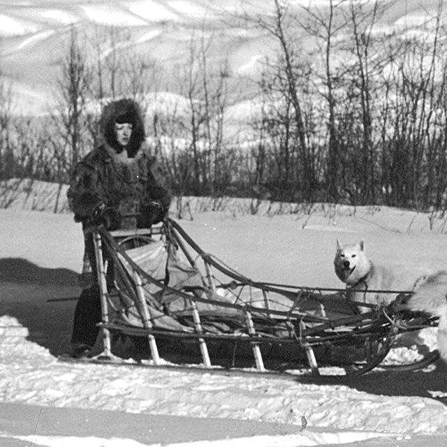 Woman Musher